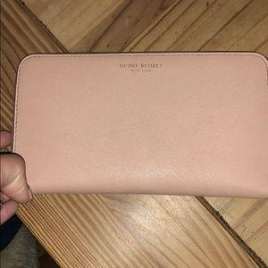 Henri Bendel pink wallet